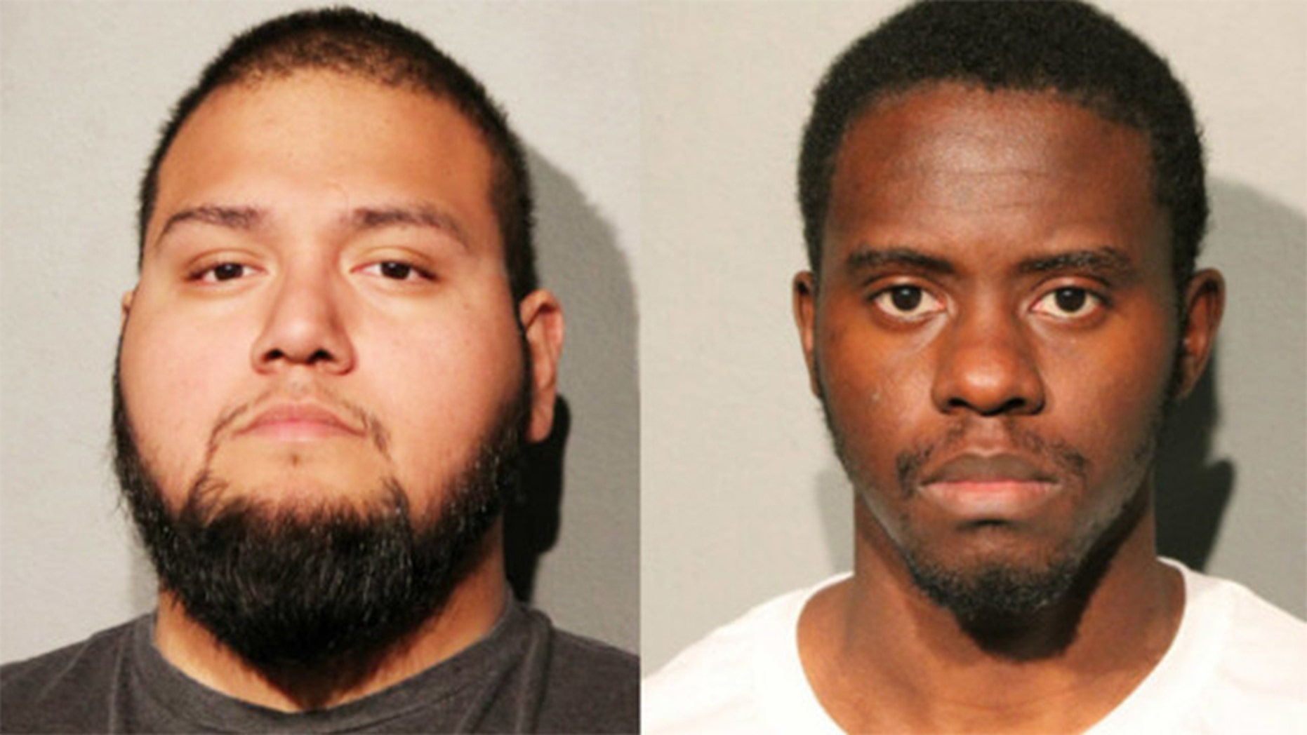 Artemio Calderon and Jarrell Patterson are accused of stealing up to $100,000 from a church in Chicago.
