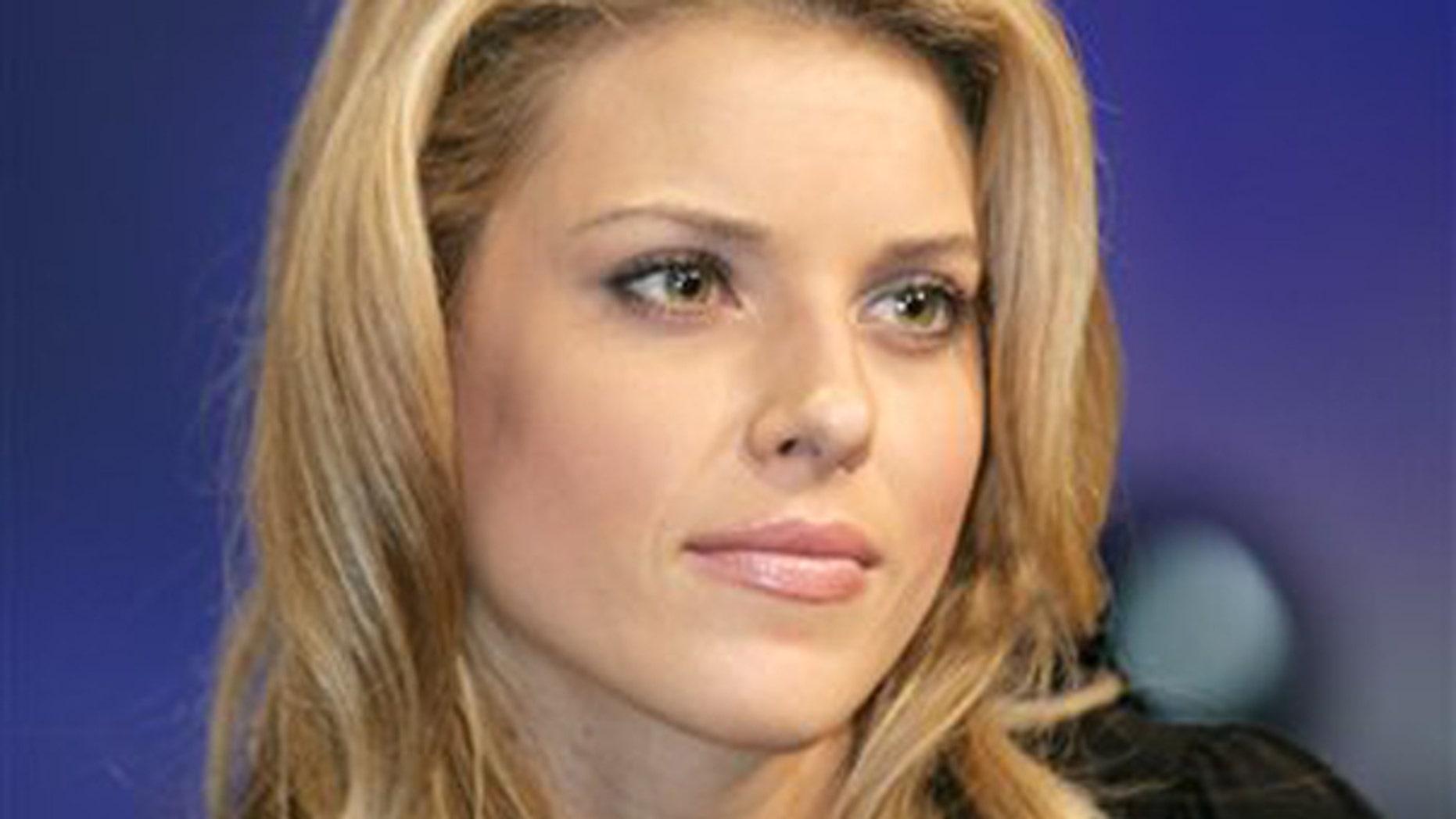 Ex-Miss California Carrie Prejean.