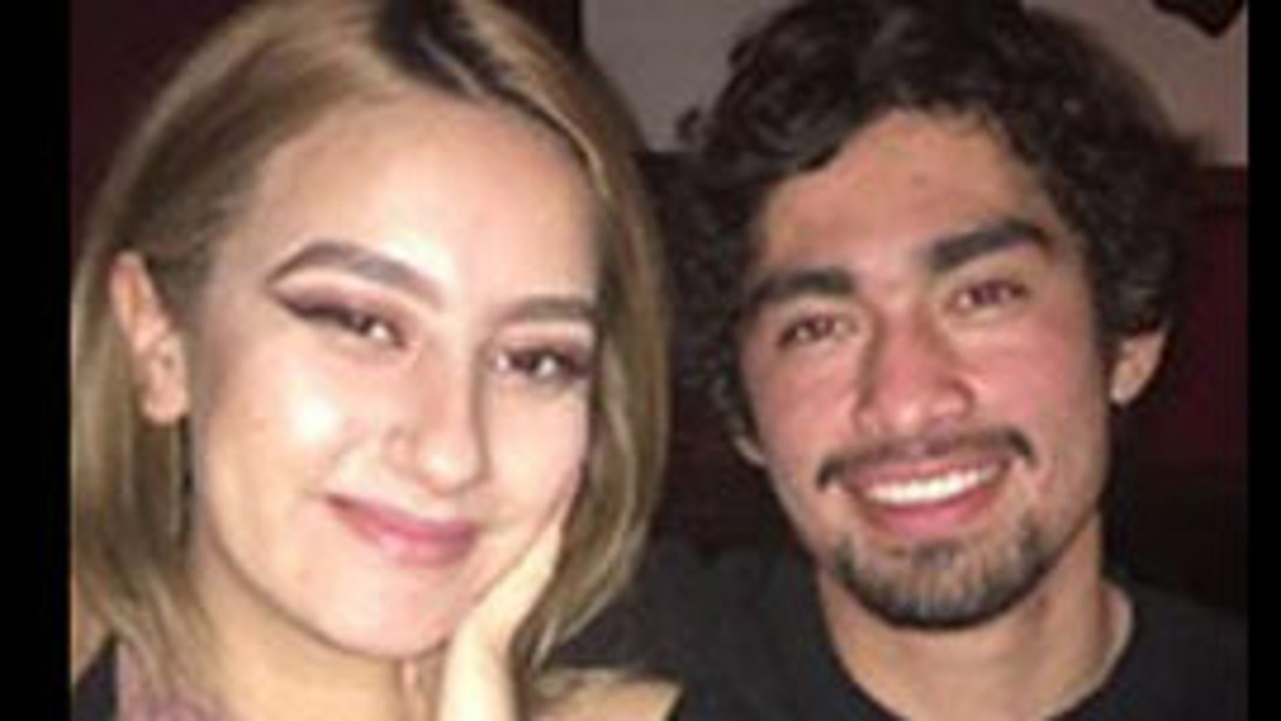 This undated photo shows Olivia Hannah Gonzalez, 20, and Brian Fernandez, 21. Gonzalez's body was found Tuesday near the wreckage of the couple's car on the California coast
