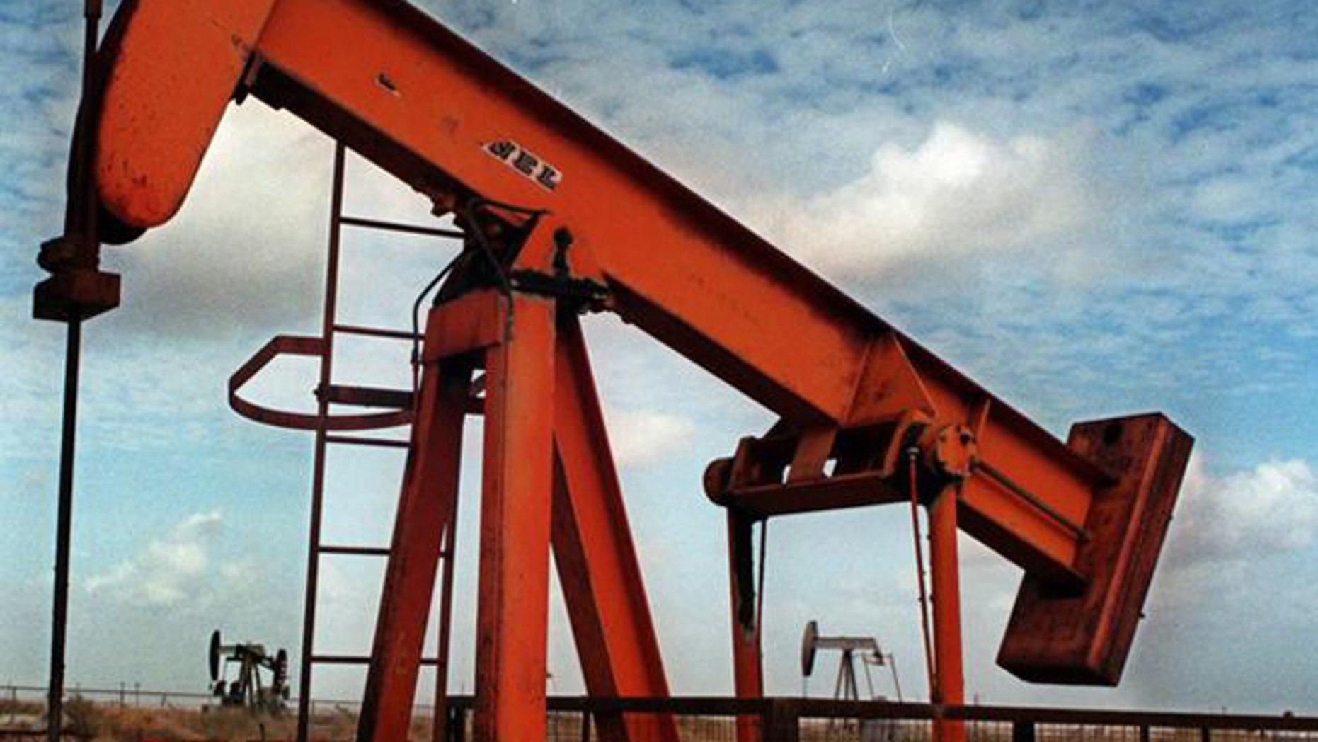 FILE: Undated: An oil pump in California