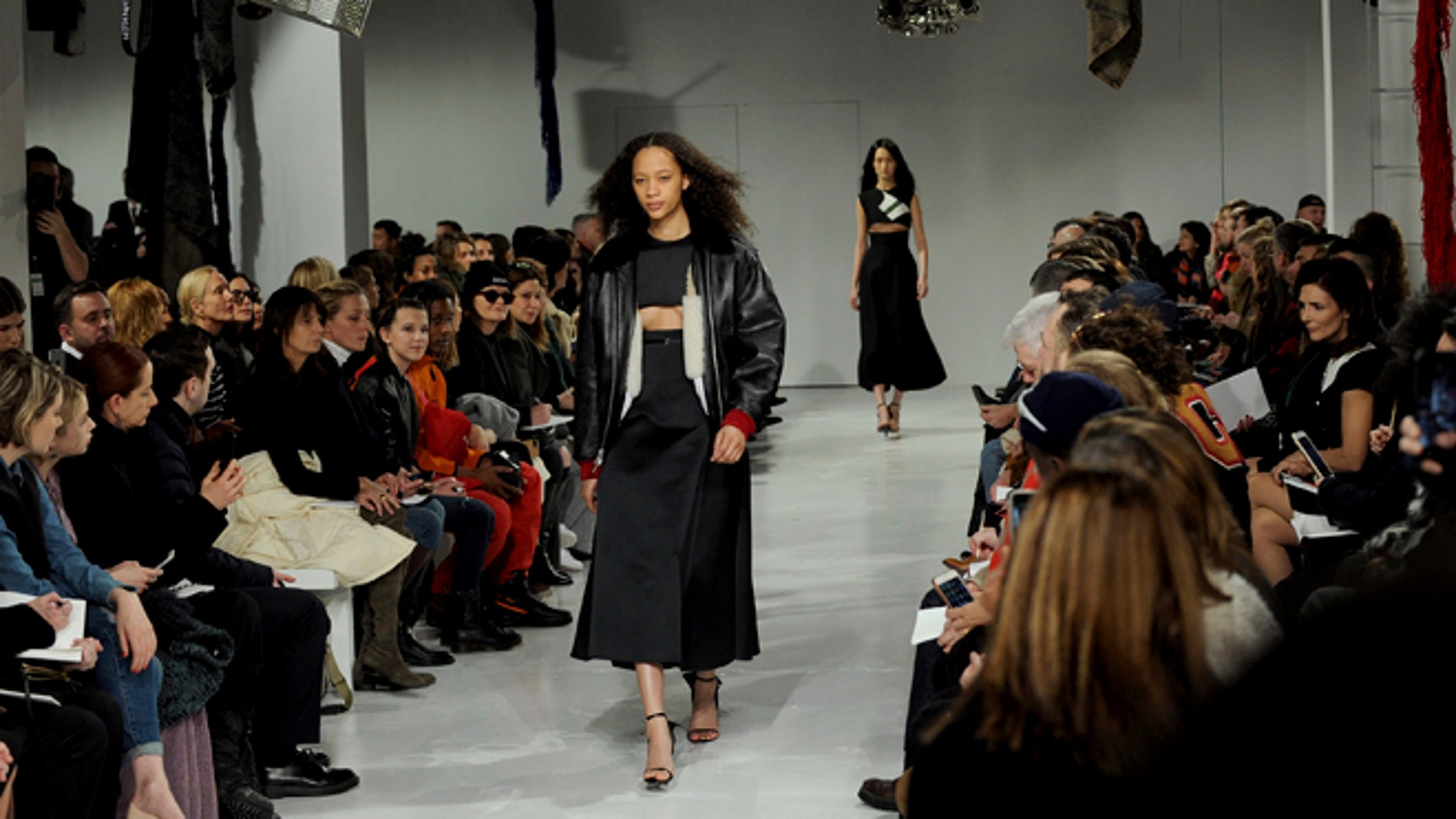 The Calvin Klein fashion show at NY Fashion Week delivered a political message.
