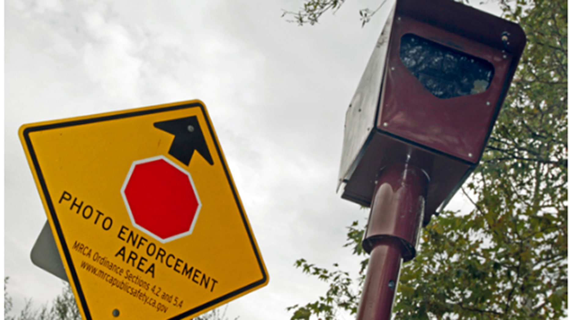 Drivers' newest nemesis -- stop-sign cameras | Fox News