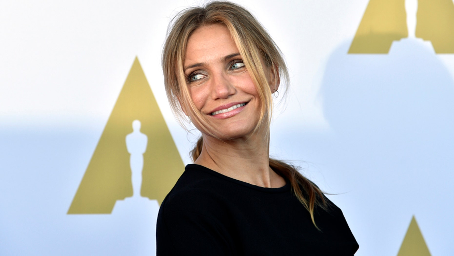 Actress Cameron Diaz attends a private luncheon in celebration of Hollywood Costume at the future home of the Academy Museum of Motion Pictures in Los Angeles, California October 8, 2014.