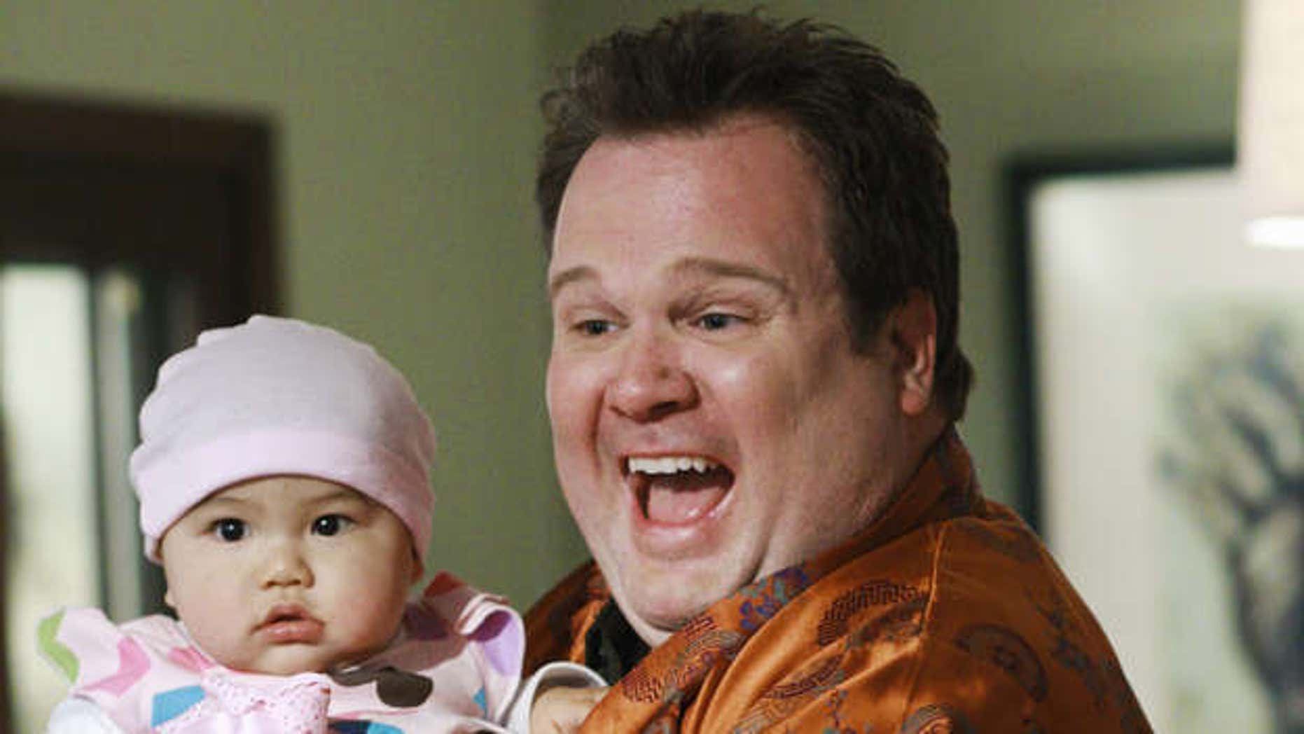 The characters Cam and Lily (when she was a bit younger) on 'Modern Family.'