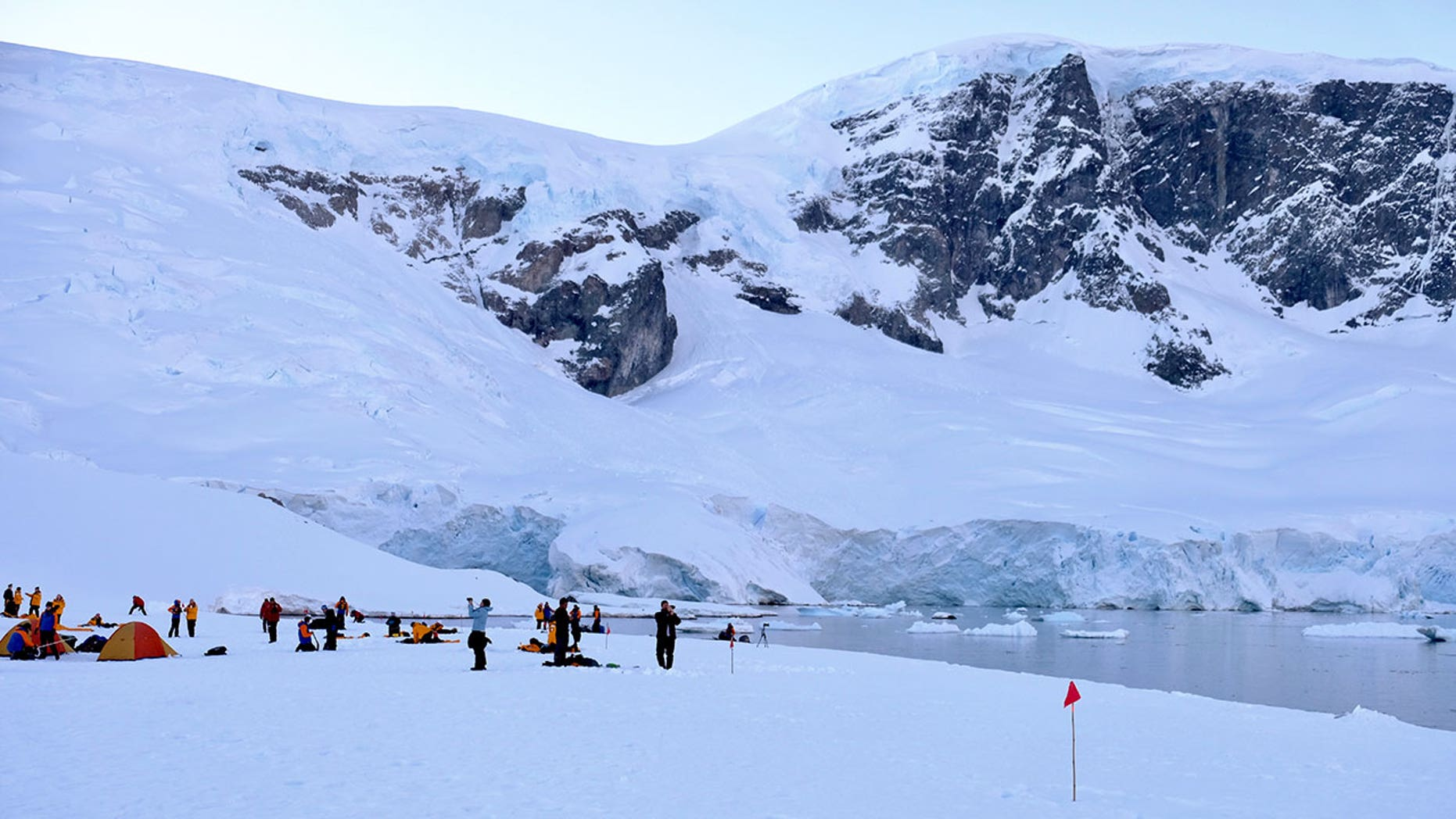 Passengers aboard the Ocean Endeavor, a ship that focuses on health and wellness, have the once-in-a-lifetime opportunity to go camping in Antarctica.