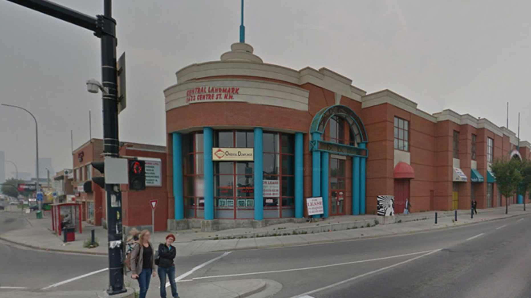 A stabbing took place Thursday at a medical clinic in the Central Landmark building in northwest Calgary, Canada.
