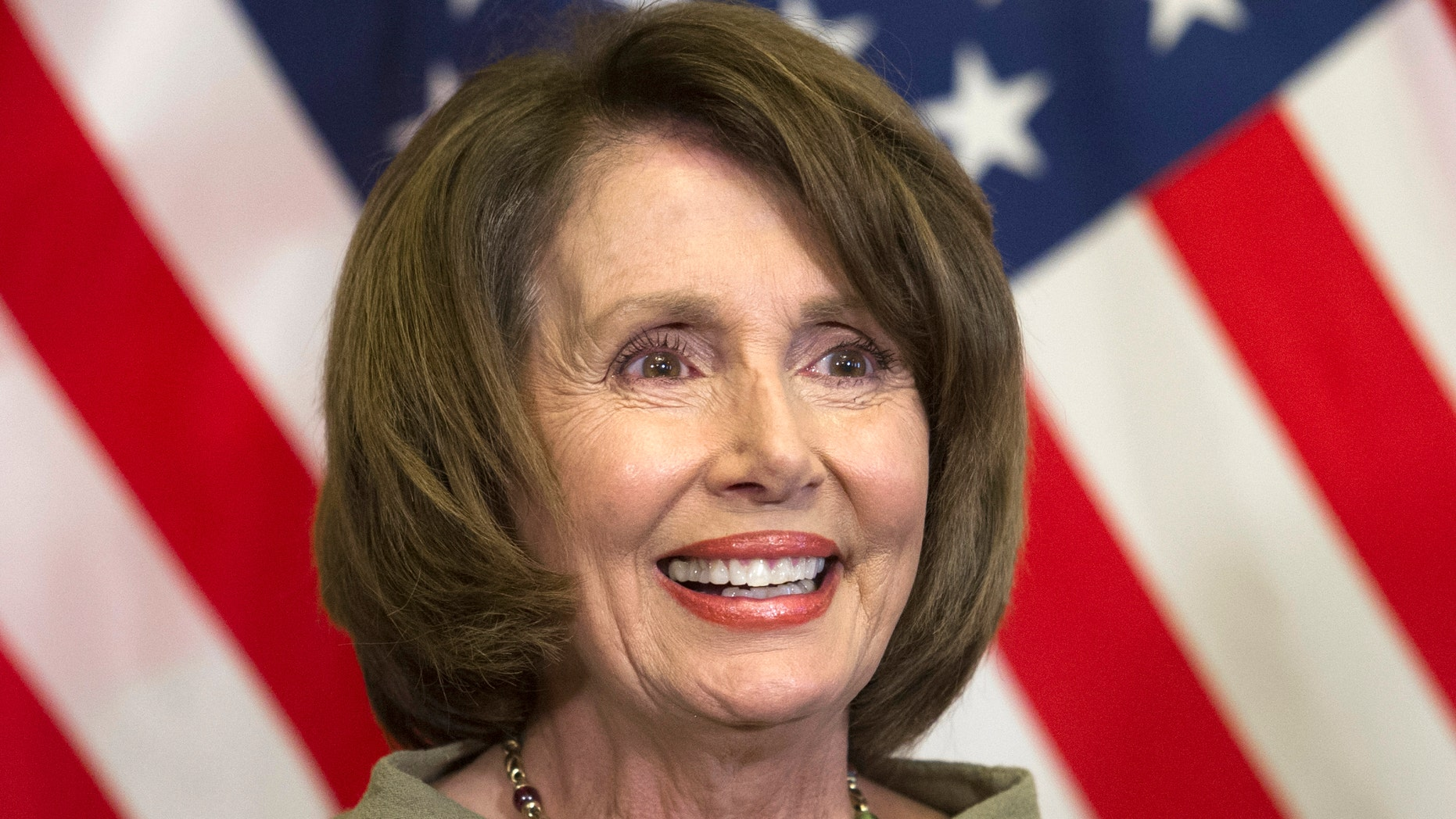 March 10, 2016: House Minority Leader Nancy Pelosi of Calif. is seen on Capitol Hill in Washington.