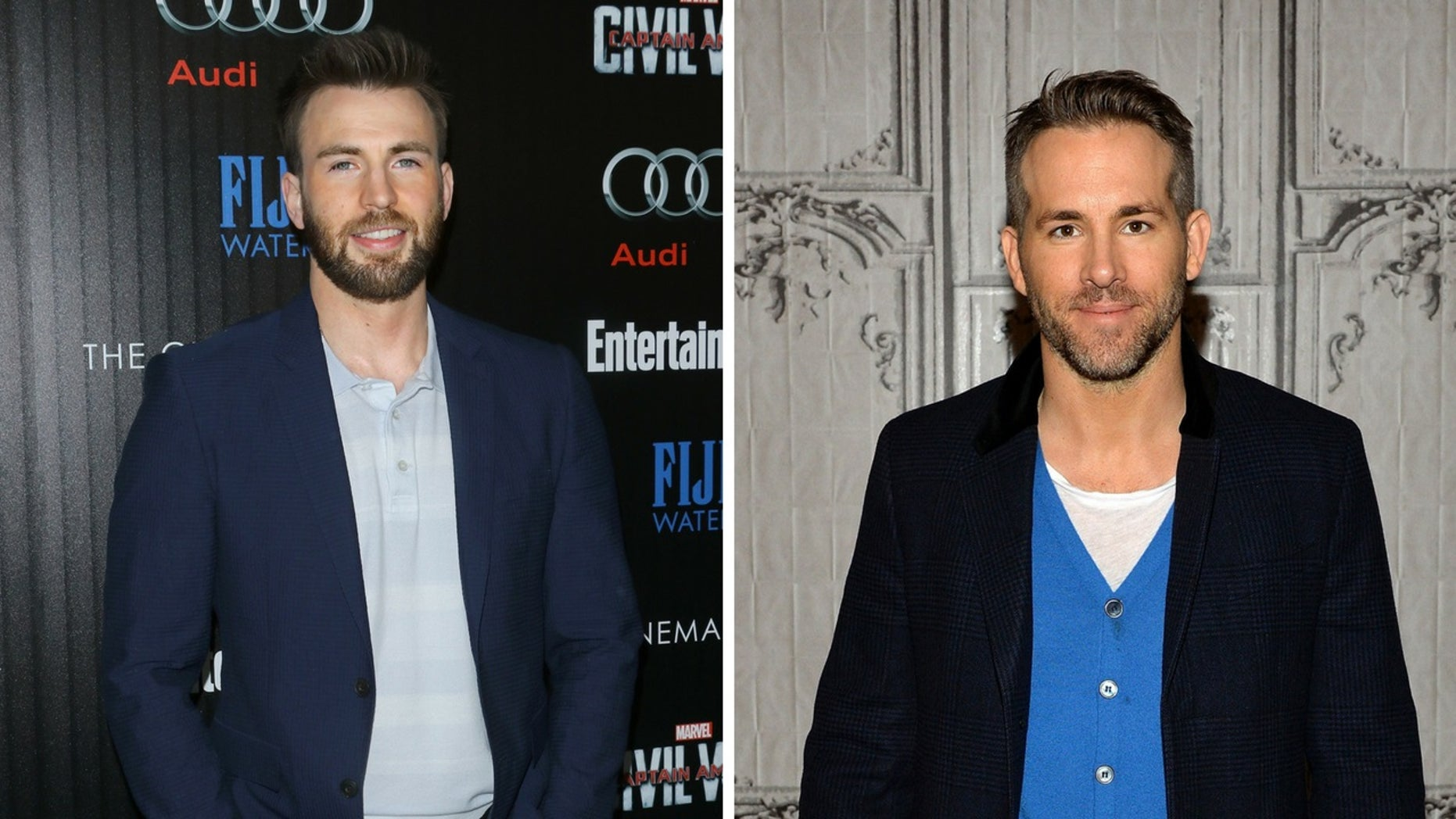 Chris Evans, Ryan Reynolds and other actors who play superheroes teamed together to send kind words to an ill fan.