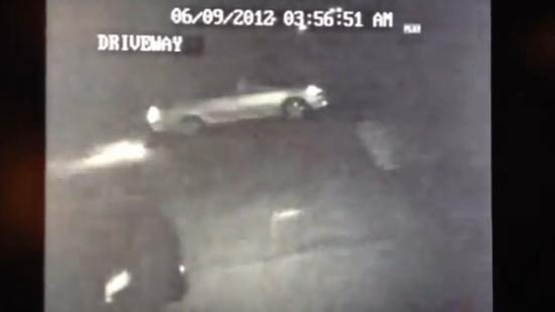 June 09, 2012: Lathrop., Calif., resident Steve Nelson posted this video on YouTube, recorded by surveillance cameras mounted on his home. He says it shows thieves stealing his car.