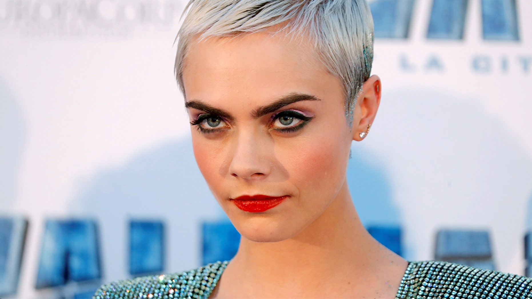 25-year-old actress and model Cara Delevingne was named the face of Dior's new anti-aging line, which caused a controversy