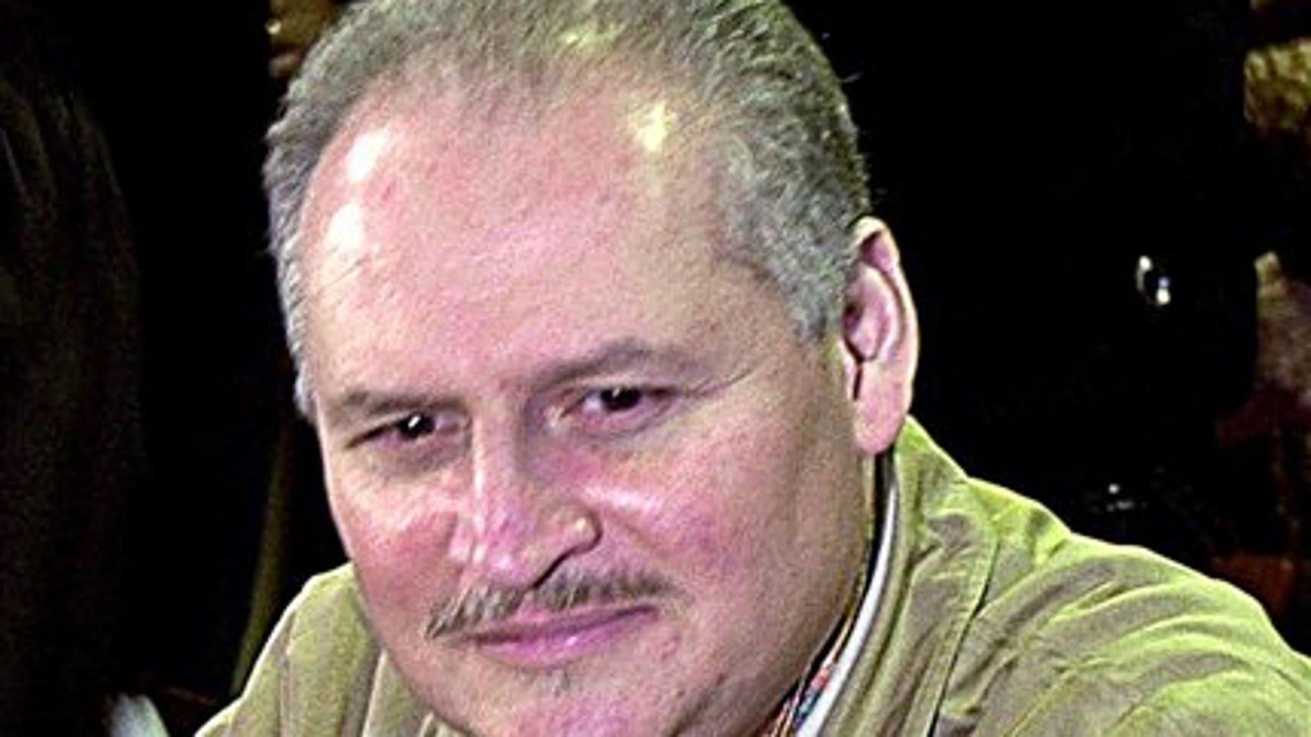 """Ilich Ramírez Sánchez, known as 'Carlos the Jackal,"""" in a Nov. 28, 2000 file photo."""