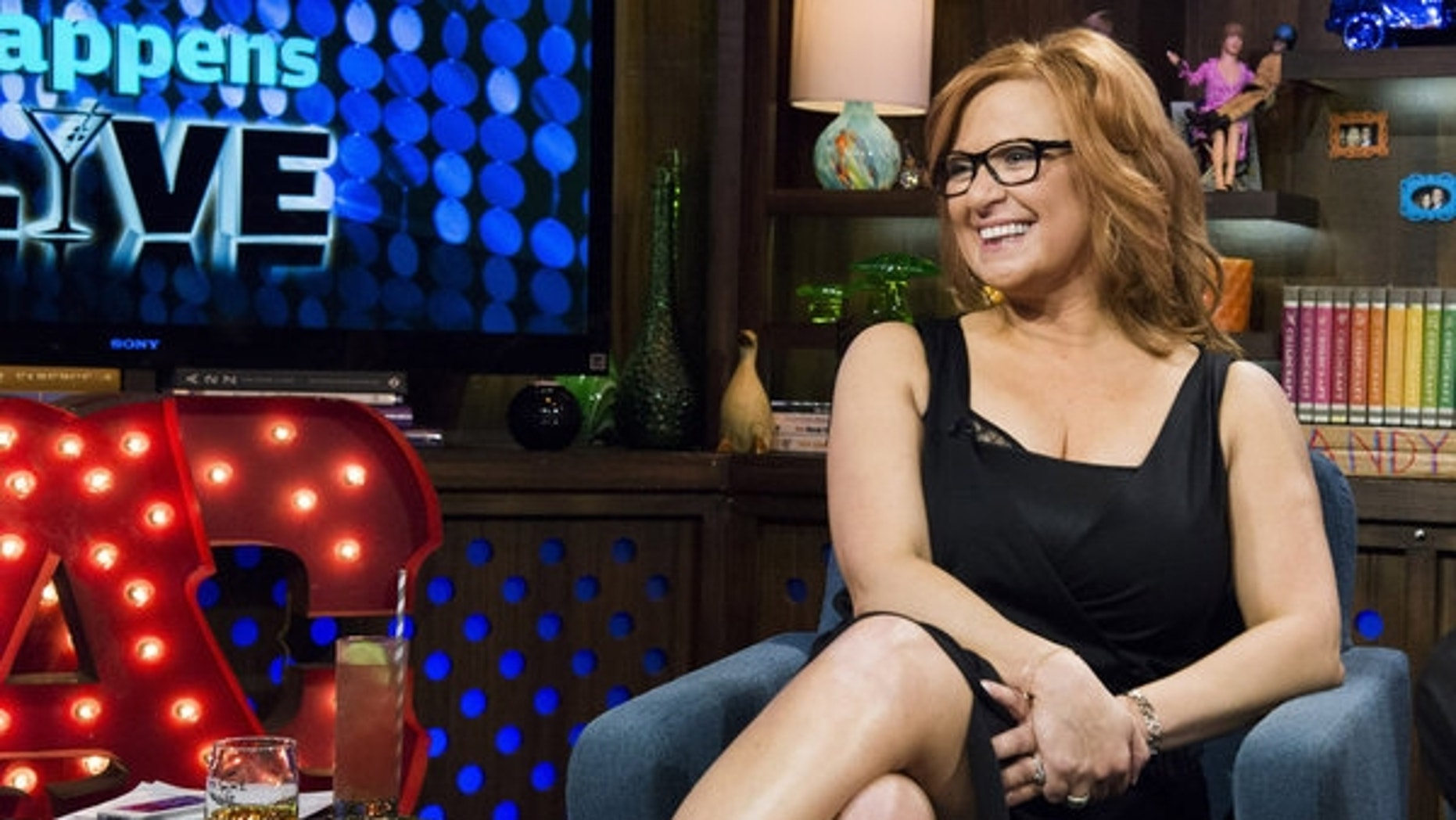 """""""Real Housewives of New Jersey"""" star Caroline Manzo appears on Bravo's """"Watch What Happens Live."""""""