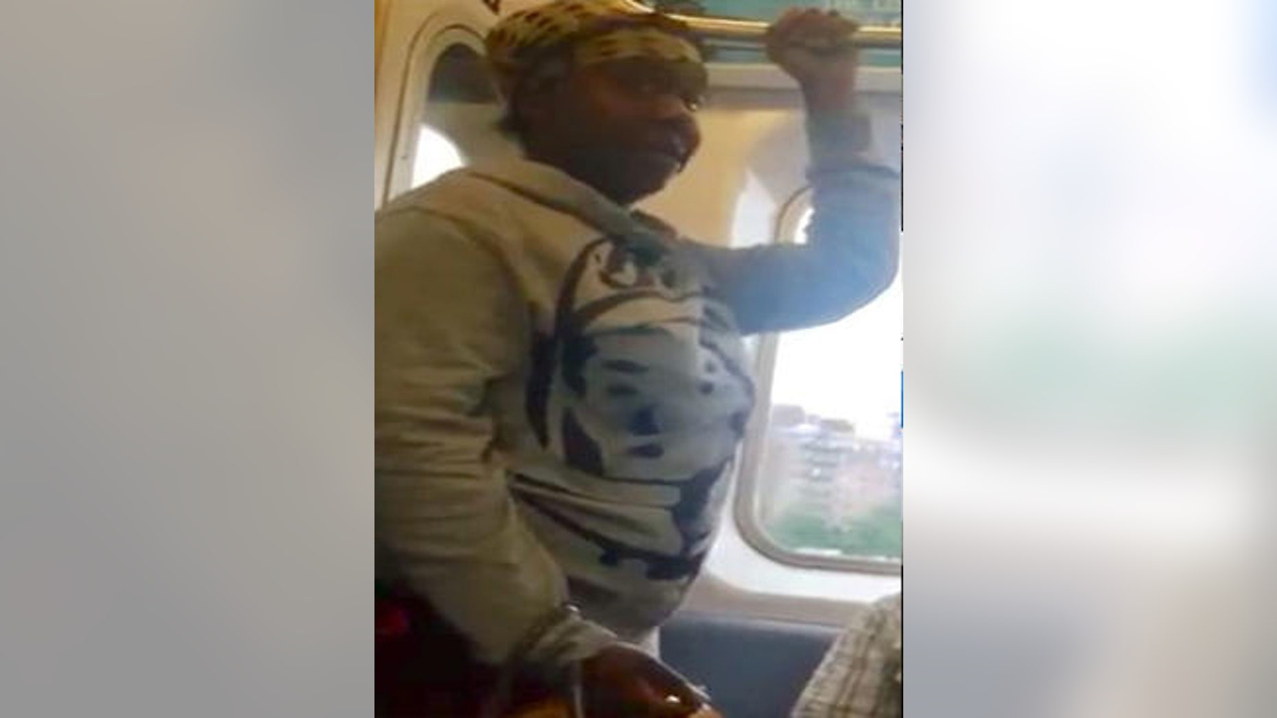 Police said this woman allegedly attacked another woman on the 4 Train in New York City.