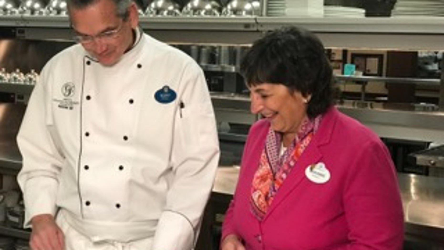 Chefs Scott and Marianne Hunnel have been cooking at Disney properties for decades.