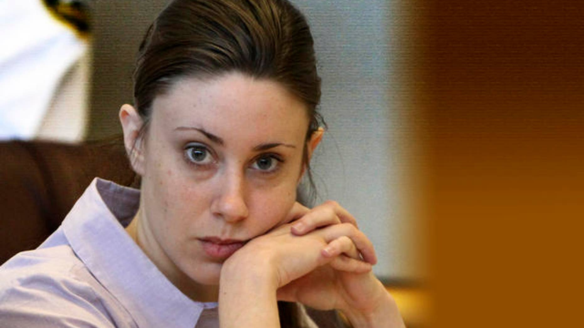 May 10, 2011: Defendant Casey Anthony appears in court at the Pinellas County Criminal Justice Center on the second day of jury selection in her trial in Clearwater, Fla.