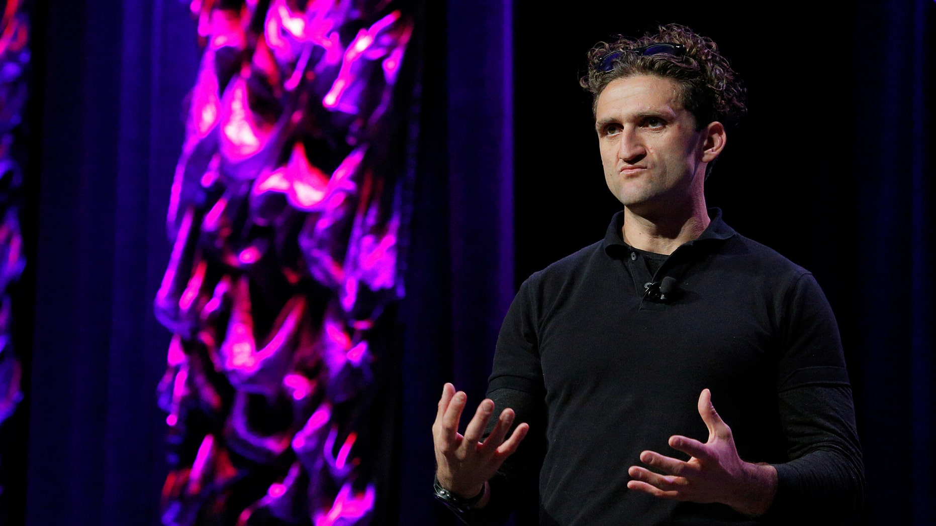 File photo - YouTube star Casey Neistat has slammed the video sharing platform's ad strategy (REUTERS/Brian Snyder).
