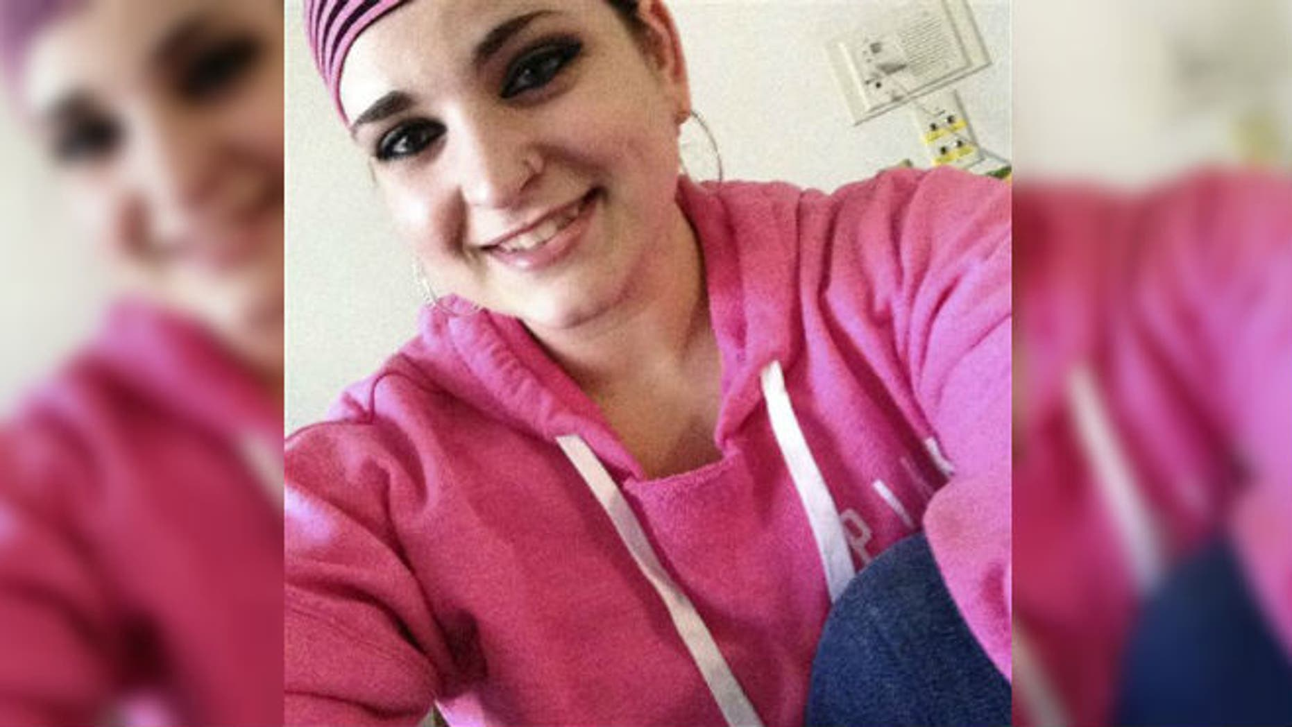 This January 2015 file photo provided by Cassandra C., shows Cassandra, a teen who does not want to give her last name, confined in a room at Connecticut Children's Medical Center in Hartford, Conn., where she is being forced to undergo chemotherapy for Hodgkin lymphoma. (AP Photo/Cassandra C., File)