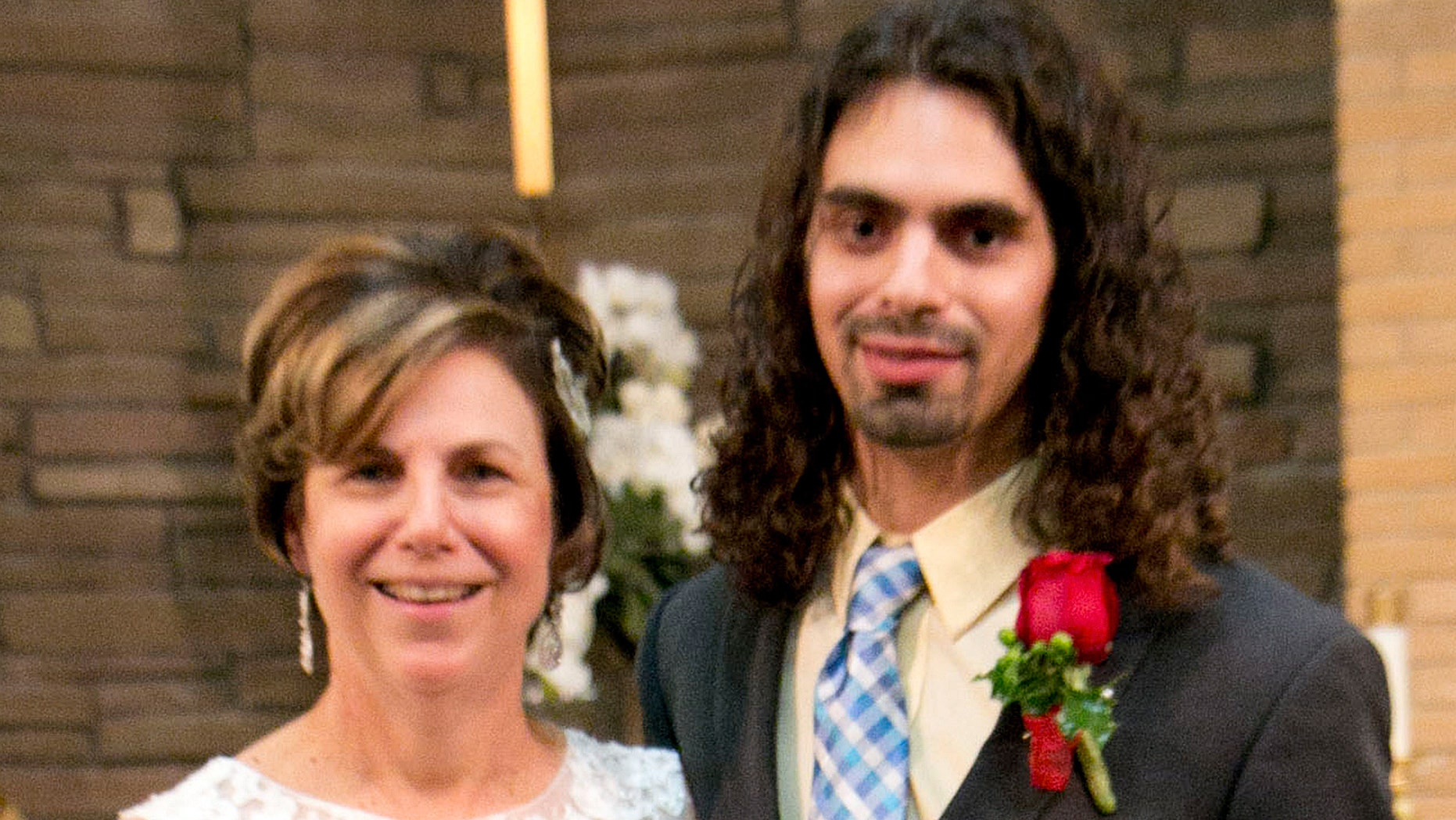 Pam Garozzo and her son, Carlos, three weeks before he died from a drug overdose.