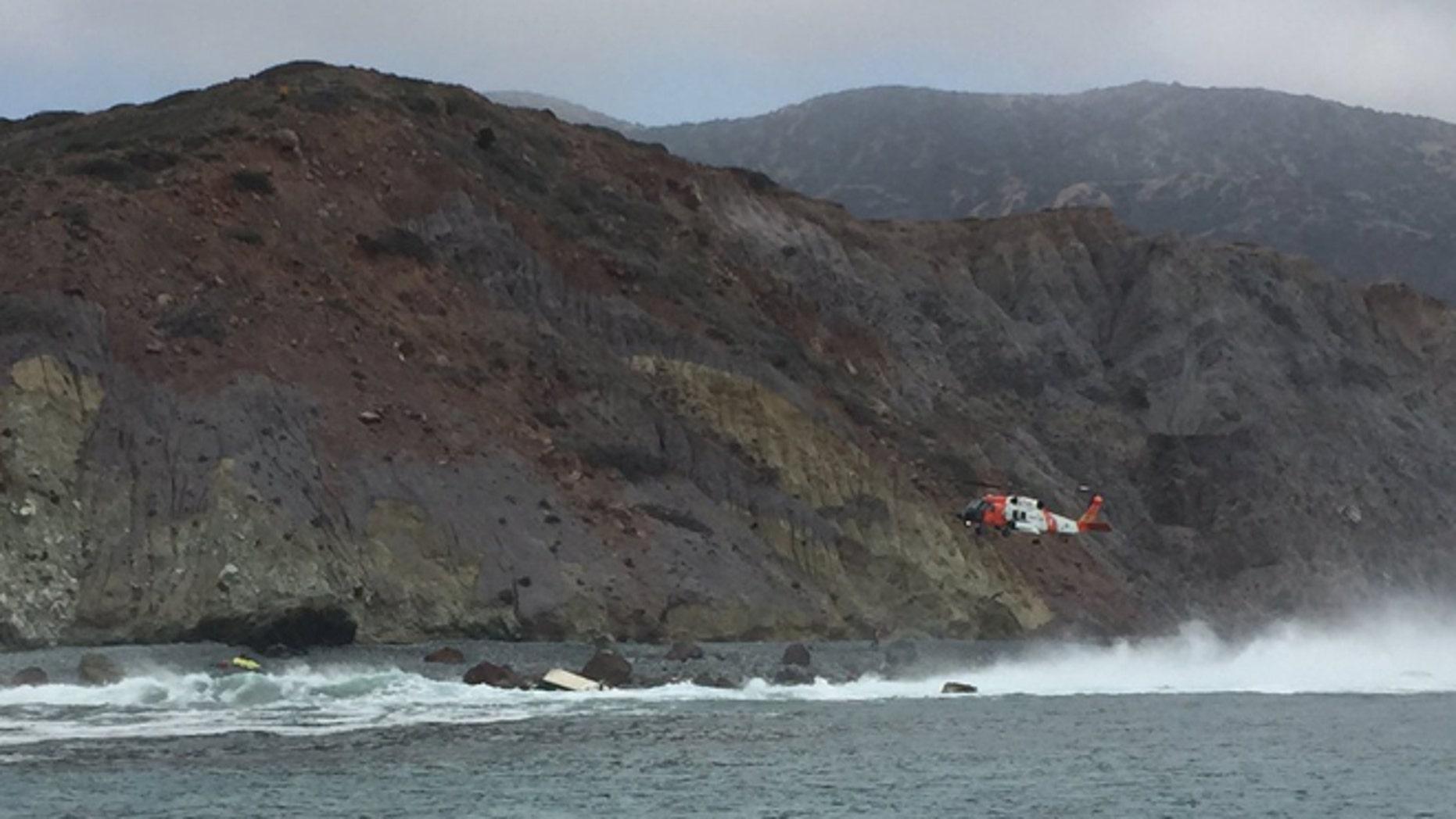 Credit: Los Angeles County Lifeguards via FoxLA