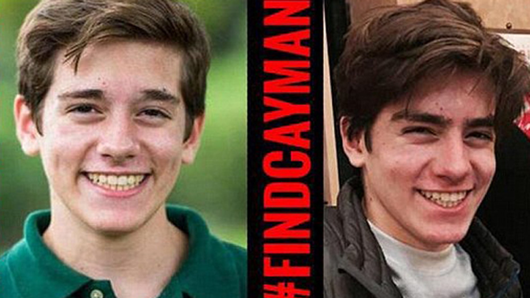 Hundreds searched for Cayman Naib, 13, who disappeared just before a snowstorm, and after getting an email from school about overdue homework. (Facebook)