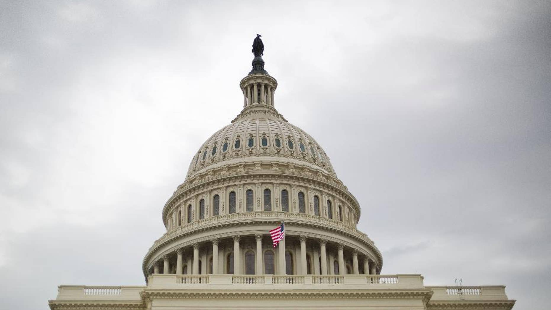 In this photo taken Dec. 8, 2016, the Capitol Building as seen in Washington. Congress wrapped up the 114th session early Saturday, a tumultuous two years marked by the resignation of a House speaker, a fight over a Supreme Court vacancy, bipartisan bills on health care and education and inaction on immigration and criminal justice. The new Congress will be sworn-in Jan. 3, 2017.  (AP Photo/Pablo Martinez Monsivais)