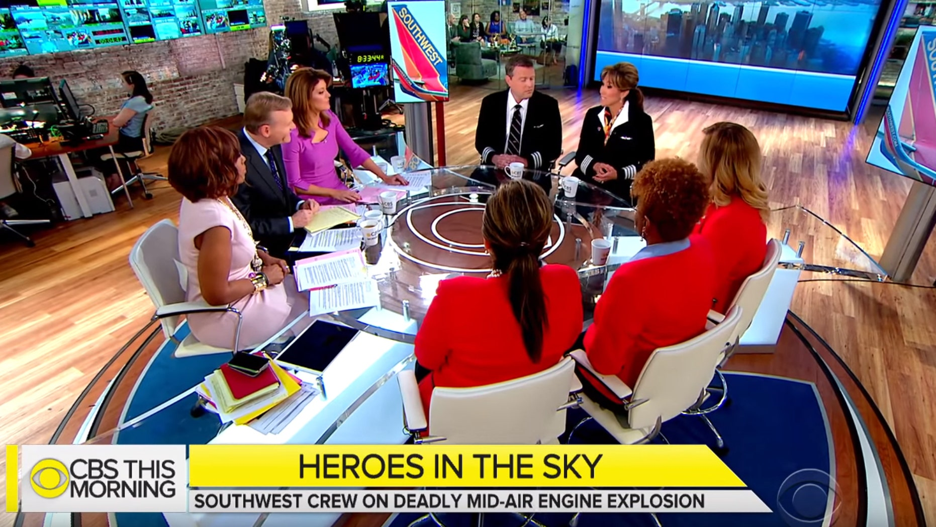 The crew of Southwest Flight 1380 say they formed a bond based on trust, faith and communication.