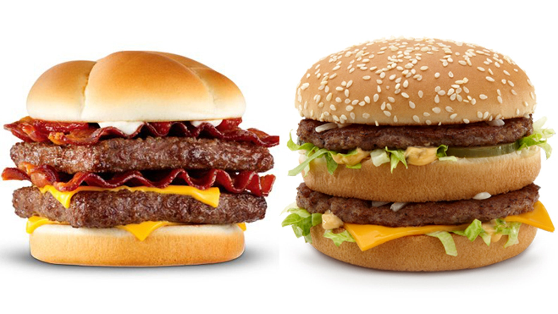 Which has more fat: the Baconator or the Big Mac?