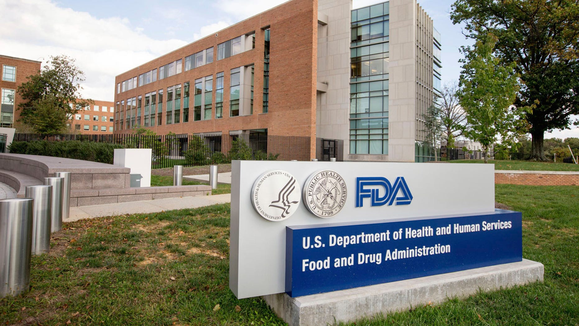 This Oct. 14, 2015 file photo shows the Food and Drug Administration campus in Silver Spring, Md.