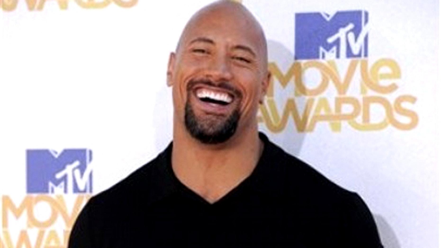 Dwayne 'The Rock' Johnson. (AP)