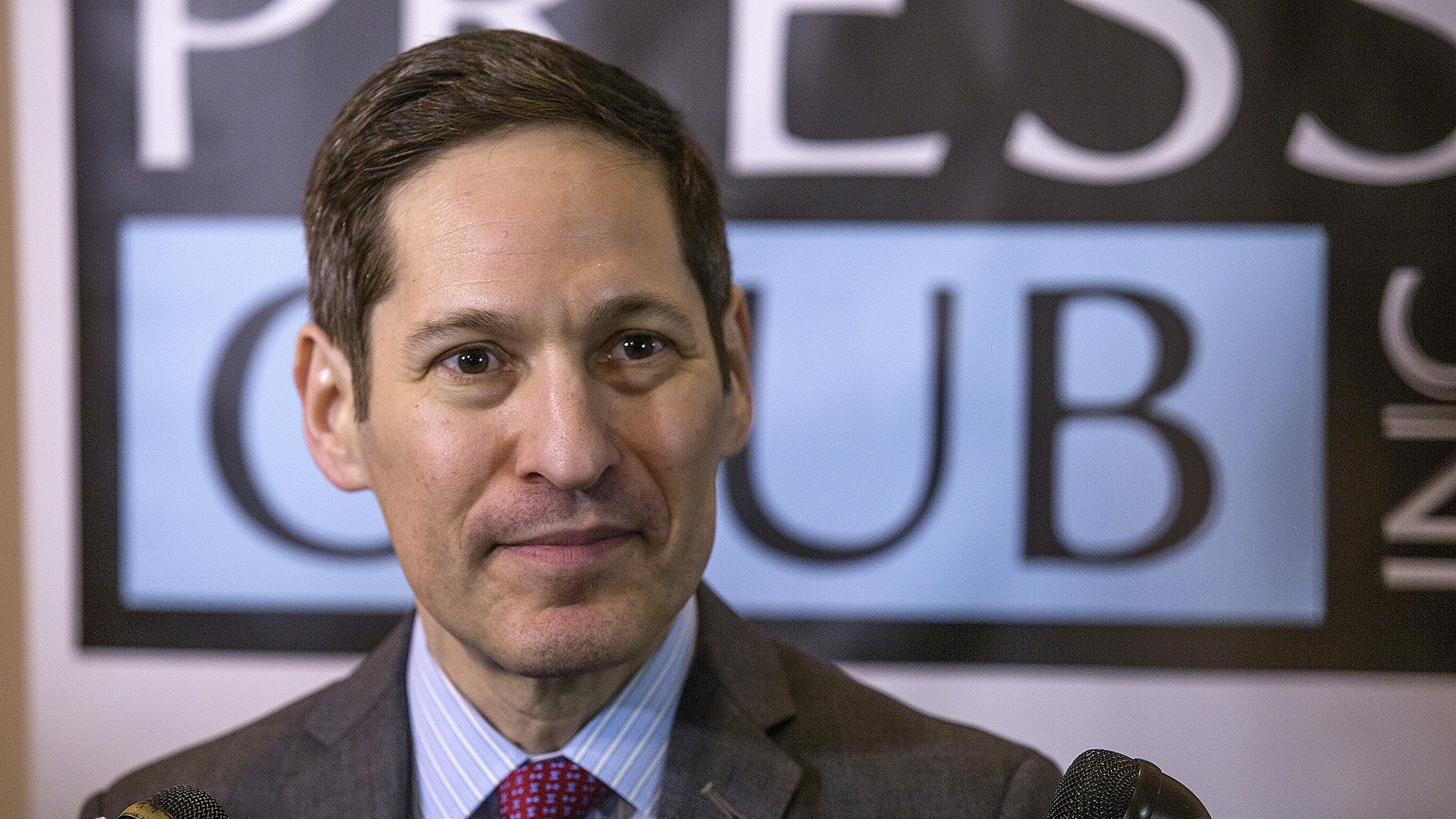 Tom Frieden, the director for Centers for Disease Control and Prevention speaks about the Zika virus at a luncheon in Atlanta hosted by the Atlanta Press Club, on Thursday, June 9, 2016.  (AP Photo/Ron Harris)