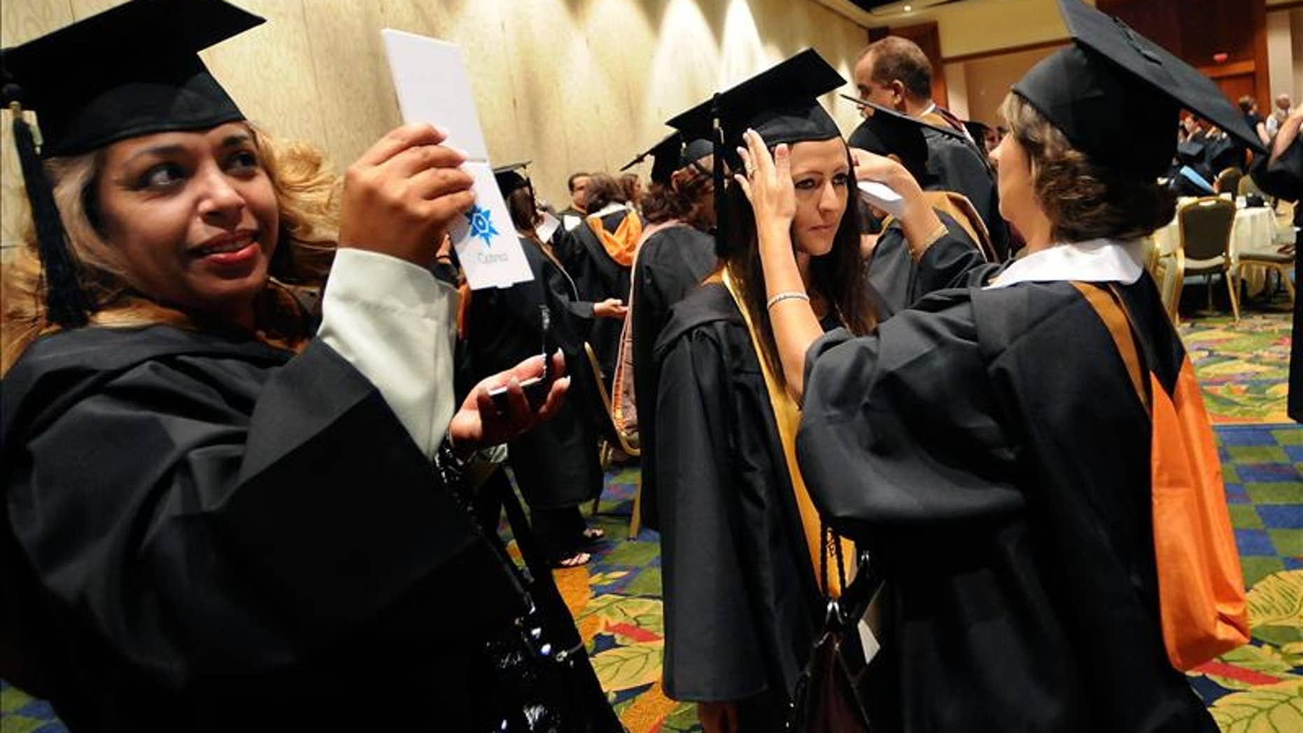 More than 60 percent of Hispanics graduated last year, the highest rate in seven years, yet Hispanics earn on average $8,500 less than most Nevadans each year.