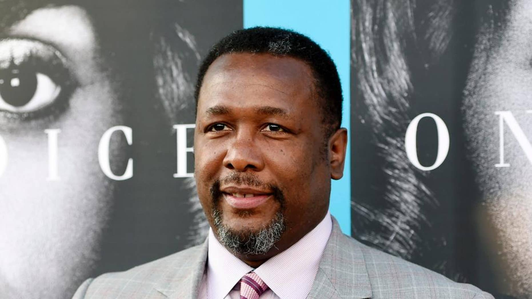 """In this March 31, 2016 file photo, Wendell Pierce, a cast member in """"Confirmation,"""" poses at the premiere of the HBO film in Los Angeles."""