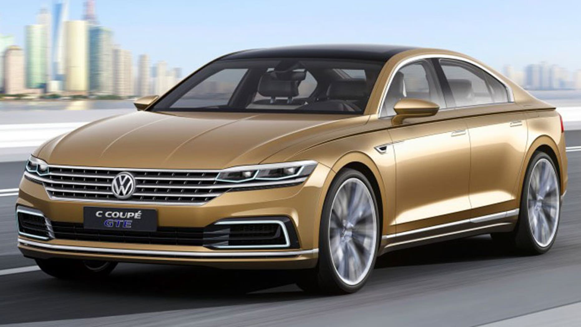 C Coupe GTE plug-in hybrid concept