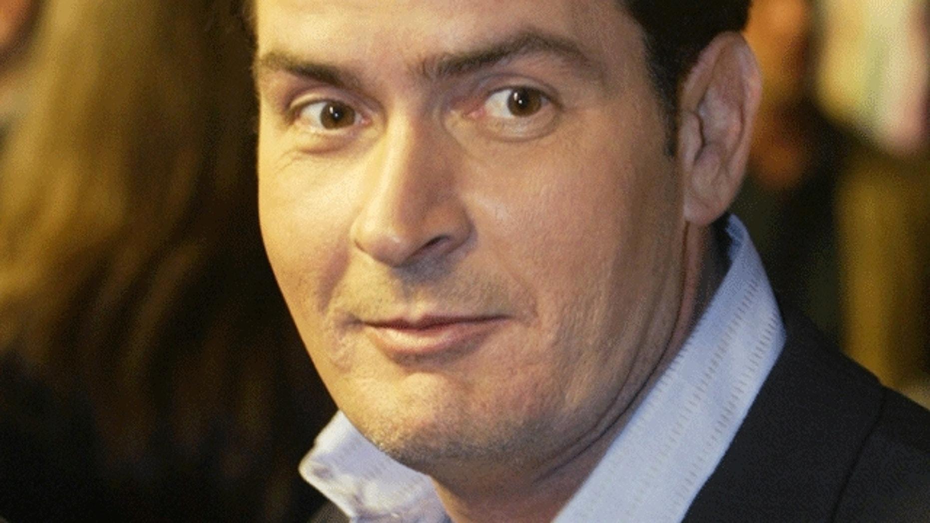 Charlie Sheen. (Reuters)