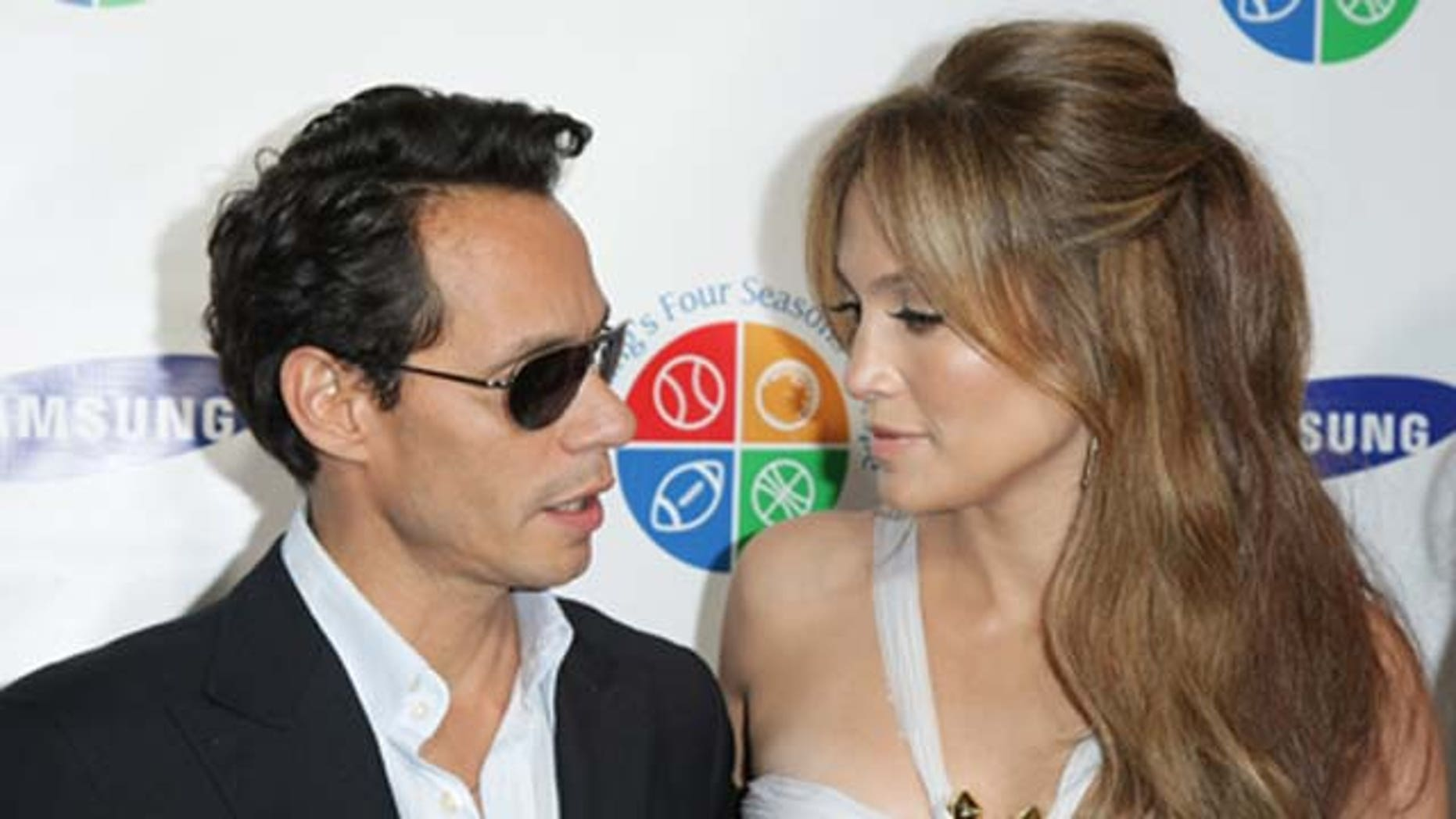 June 15, 2010: Marc Anthony and Jennifer Lopez attend Samsung's 9th Annual Four Seasons of Hope Gala at Cipriani Wall Street in New York City.