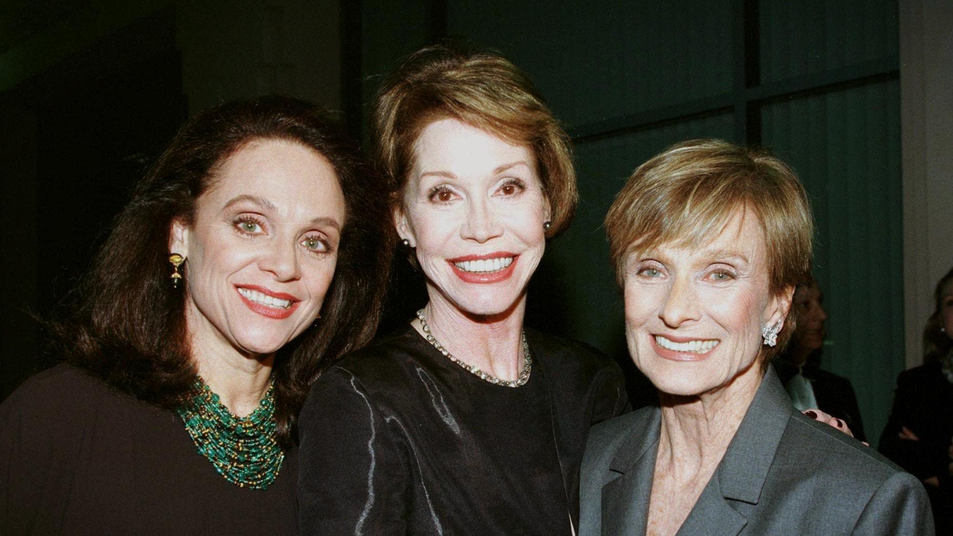 Valerie Harper, Mary Tyler Moore and Cloris Leachman.