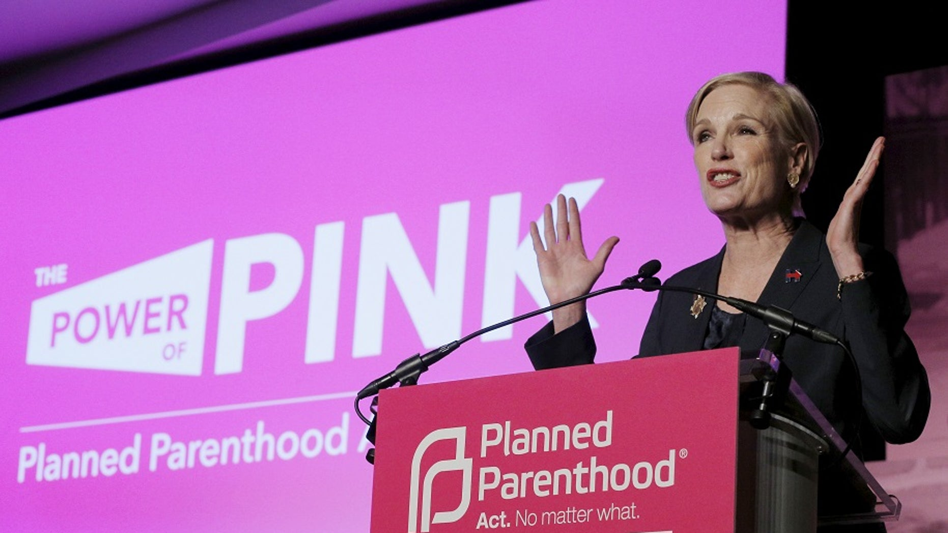 Cecile Richards announced she was stepping down as president of Planned Parenthood Friday.
