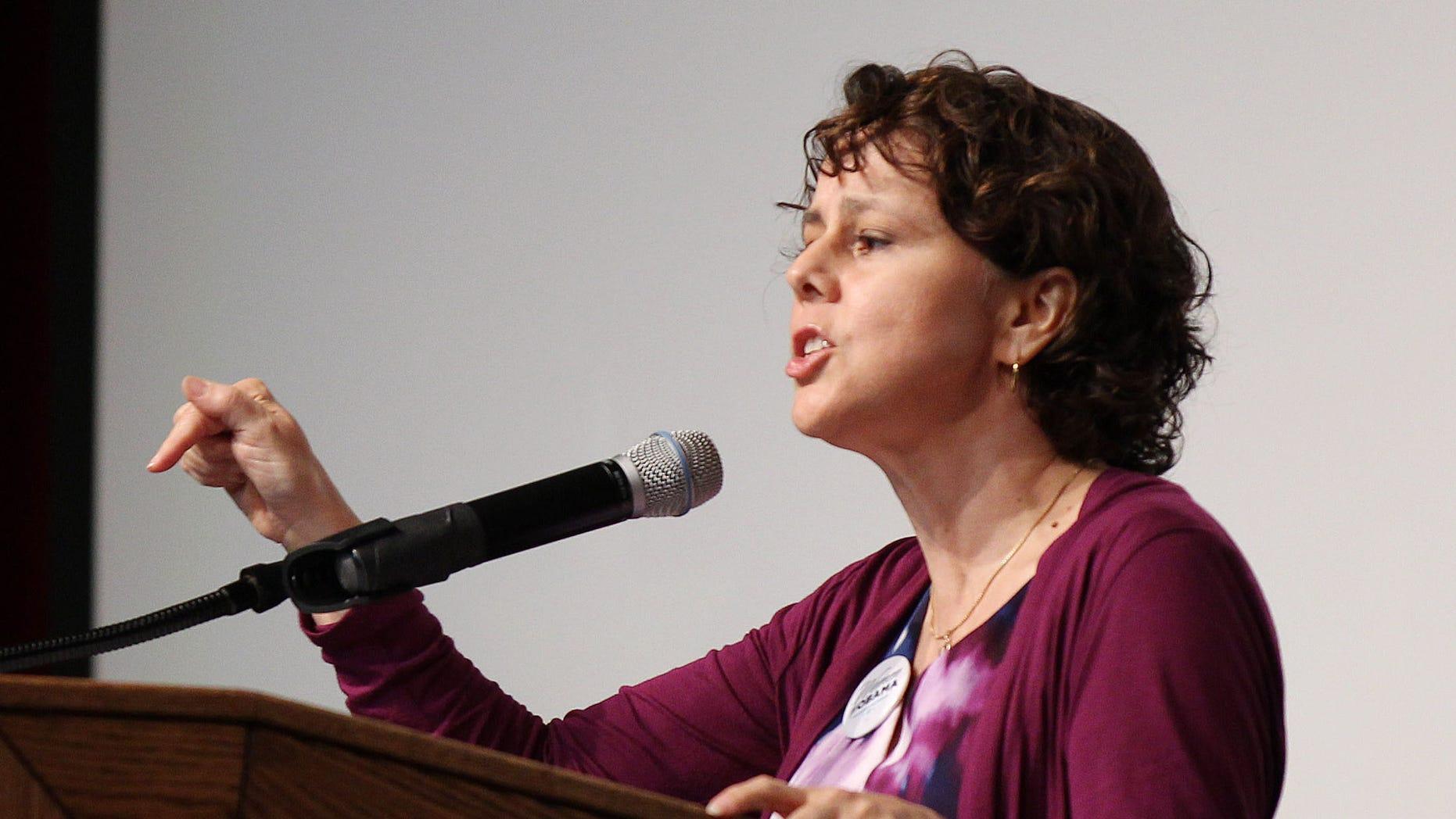 Cecilia Muñoz, director of the White House Domestic Policy Council, in a 2012 file photo.