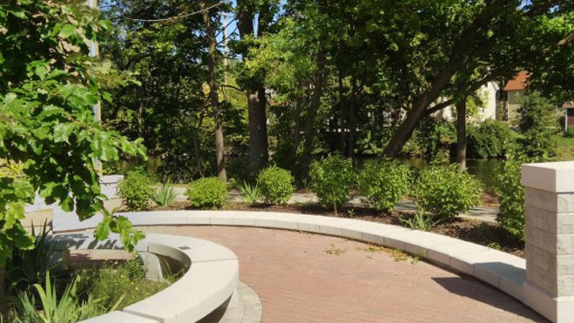 Pictures is Advent Lutheran Church's prayer garden. (Watchdog.org)