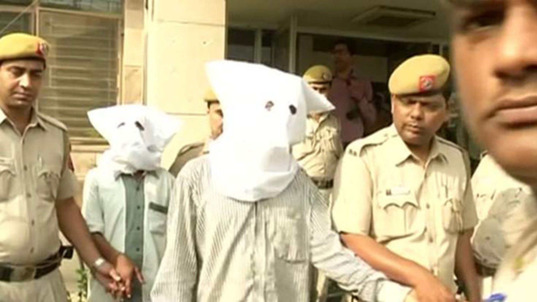 Suspects in child rapes arrested in India.