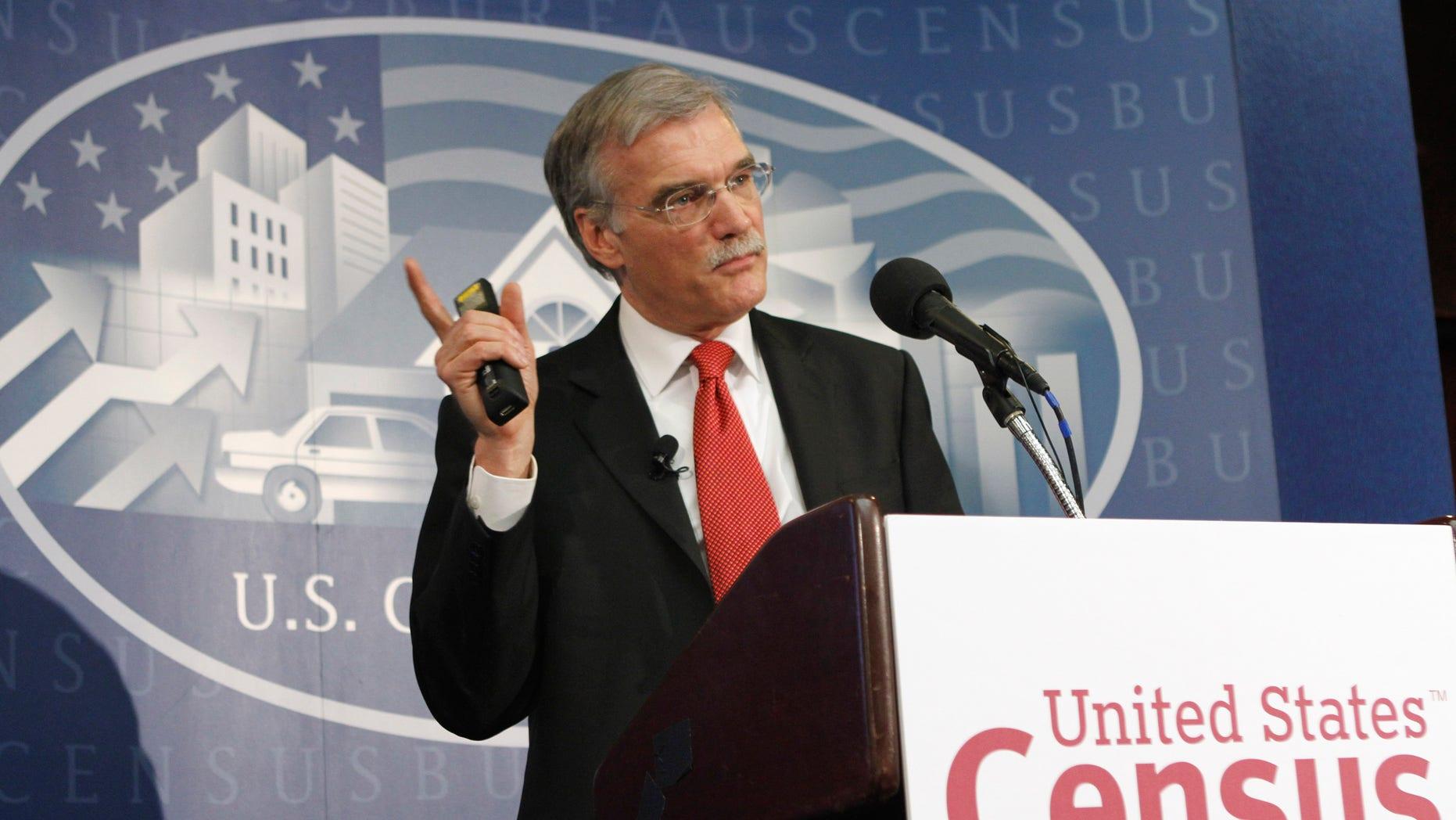 U.S. Census Bureau Director Robert Groves, March 24, 2011. (AP)