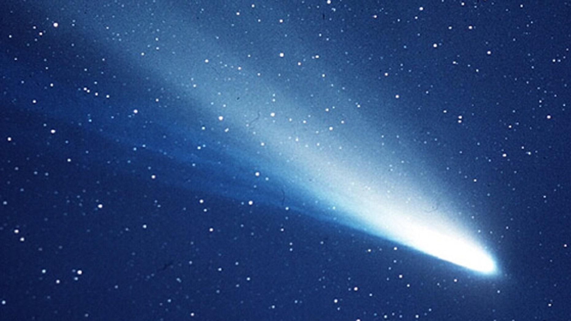 An image of Halley's Comet taken in 1986.