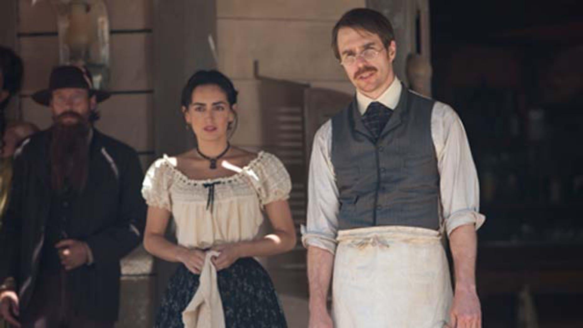 """July 29, 2011: Mexixan actress Ana de la Reguera stars as Maria in """"Cowboys & Aliens."""""""