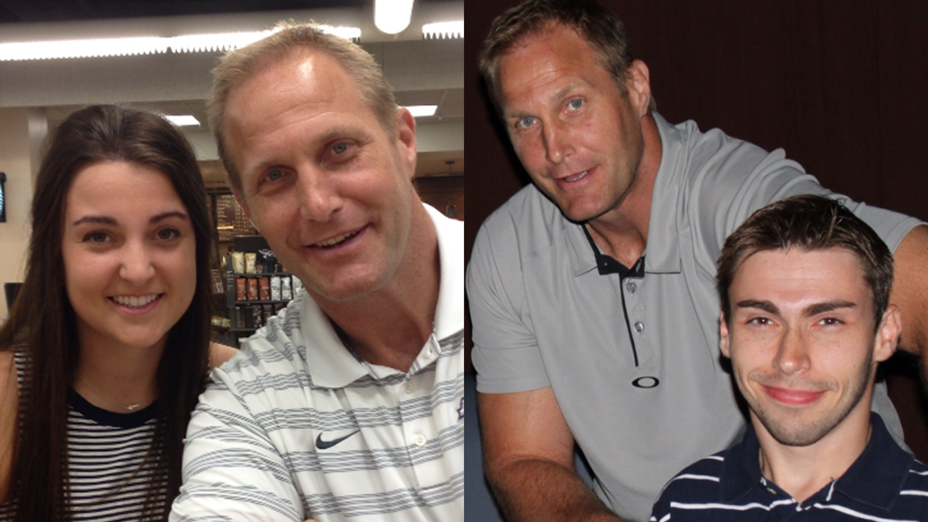 Chad Hennings with his daughter and son (Courtesy of the author)