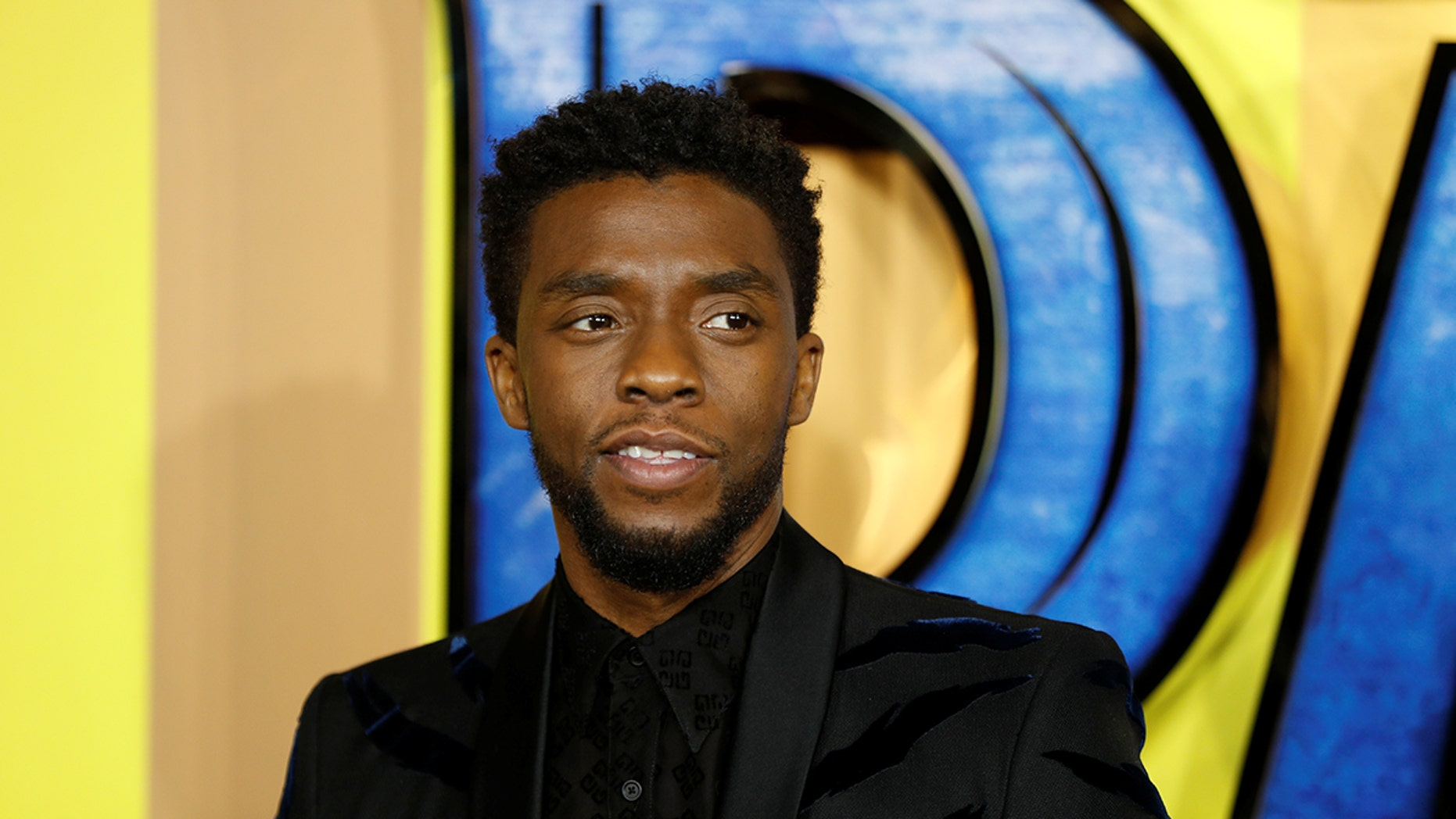 Actor Chadwick Boseman arrives at the premiere of the new Marvel superhero film 'Black Panther' in London, Britain February 8, 2018. REUTERS/Peter Nicholls - RC13C3720770