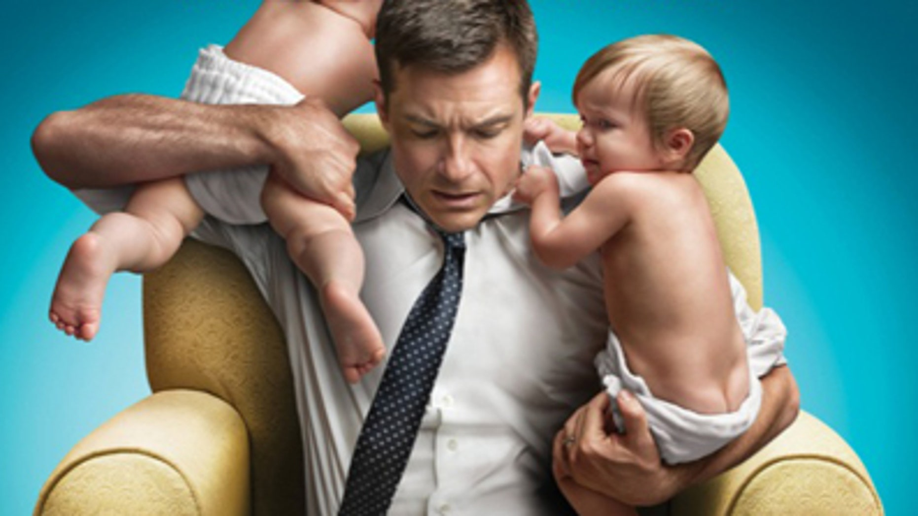 """Jason Bateman plays Dave, a father of three, in the new movie """"The Change-Up."""""""