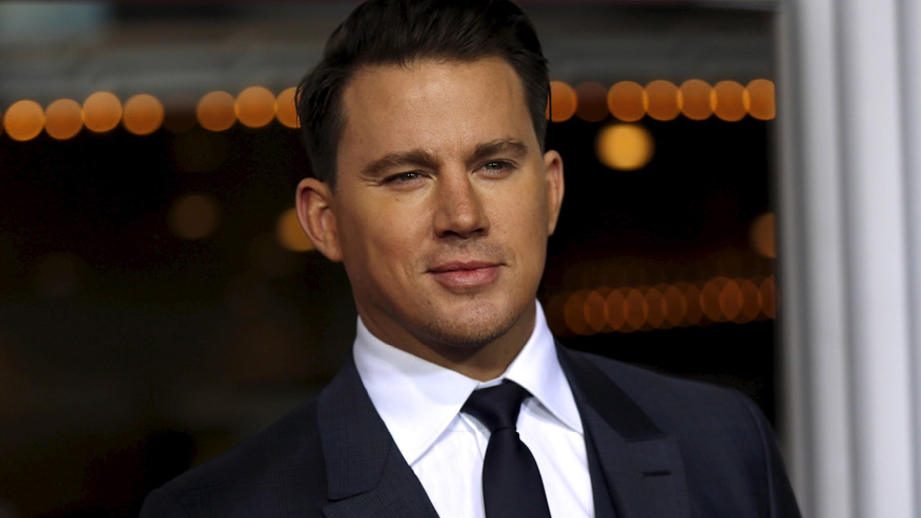 """Channing Tatum arrives for the premiere of """"Hail, Caesar!"""" in Los Angeles, California, on February 1, 2016."""