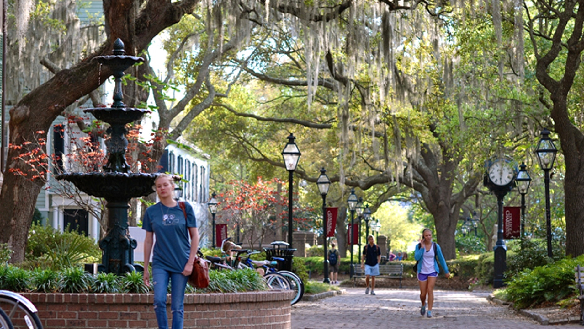 Charleston, S.C. was voted as the world's top tourist town by Conde Nast.