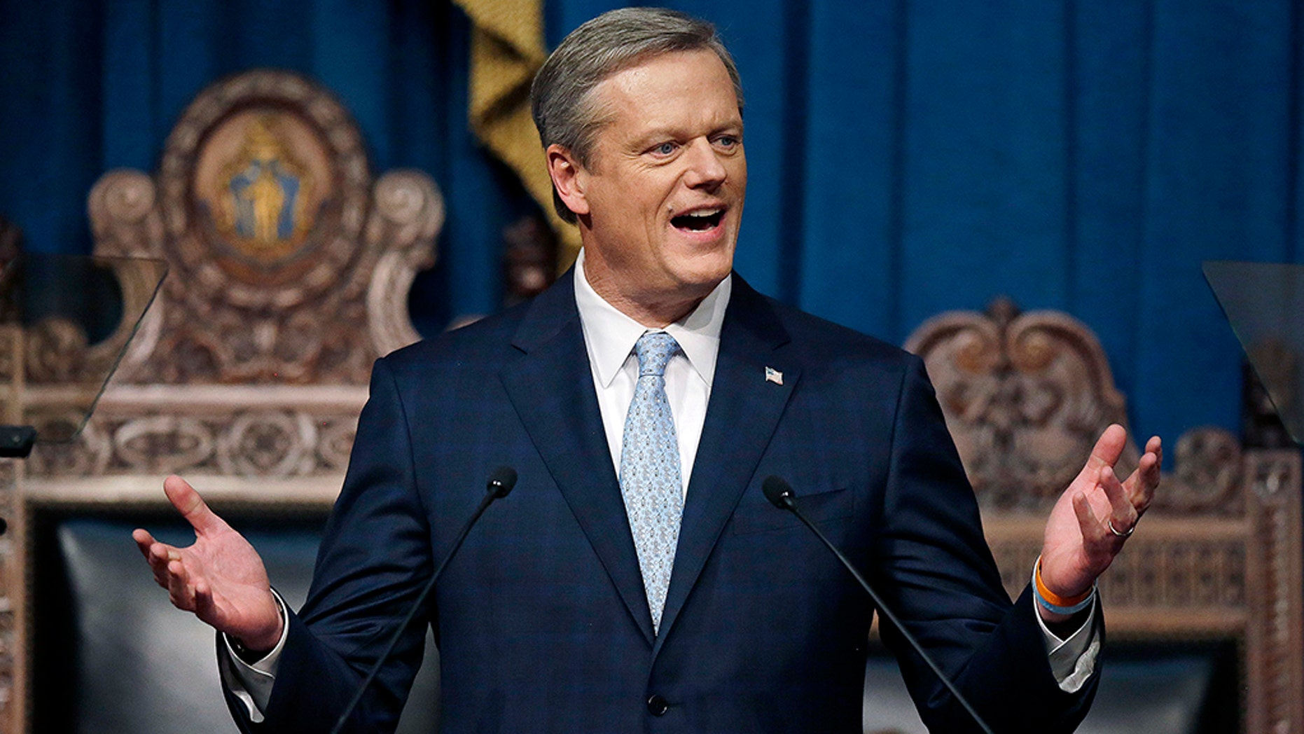Massachusetts GOP Gov. Charlie Baker is showing that Republicans can survive in deep blue states.