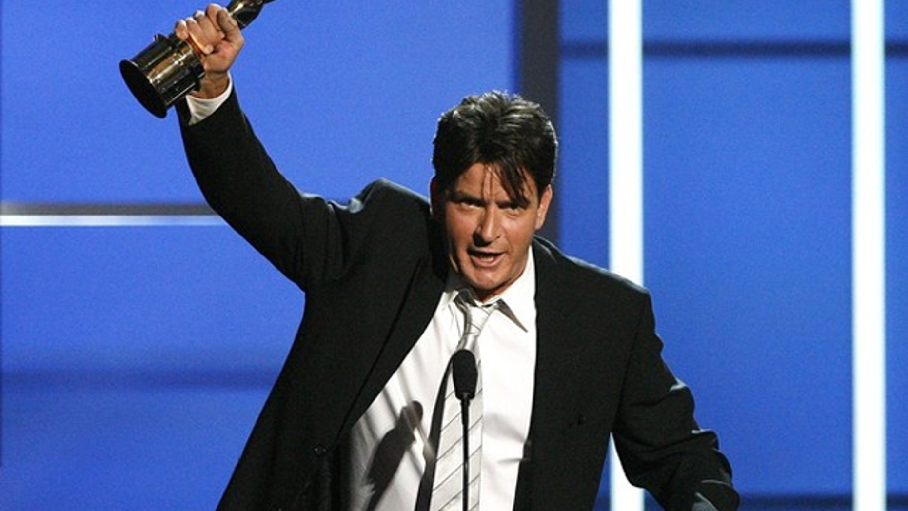 More popular than Obama, Lady Gaga and even the new iPad, Charlie Sheen is 'winning' the Internet.